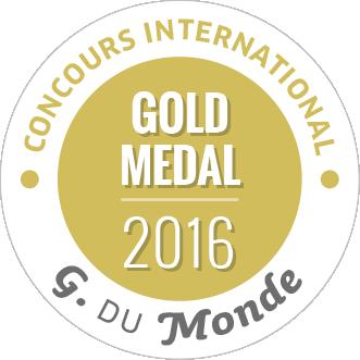 Grenache du monde medaille or