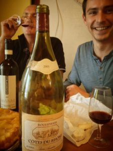 Bouteille Roulepierre 2001