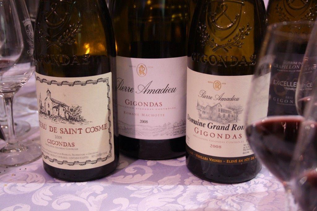 Concours vin gigondas
