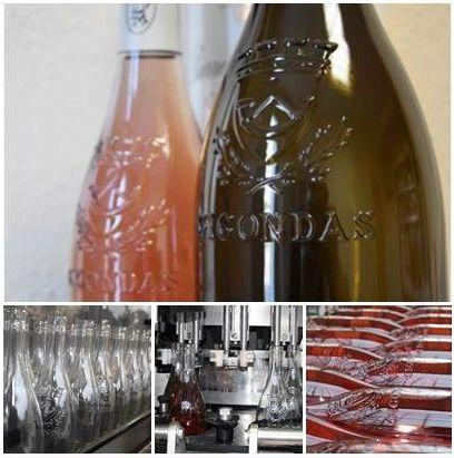 mise rosé bouteille gravée
