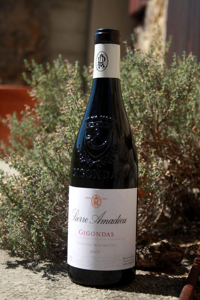 bouteille Gigondas Romane Machotte