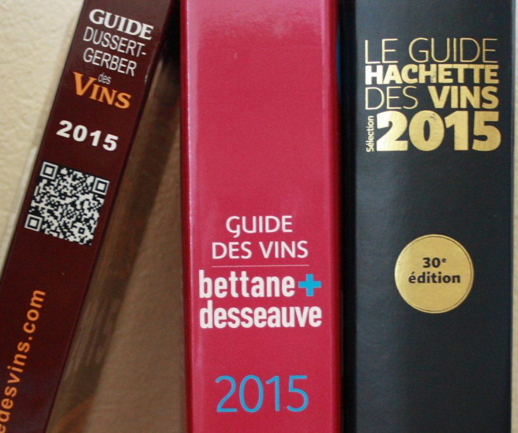 guide des vins presse