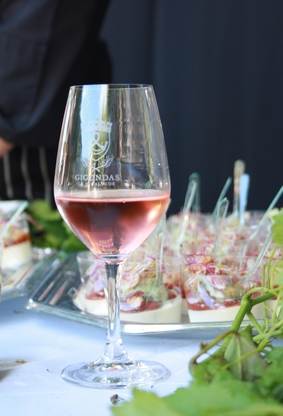 Gigondas rosé accords