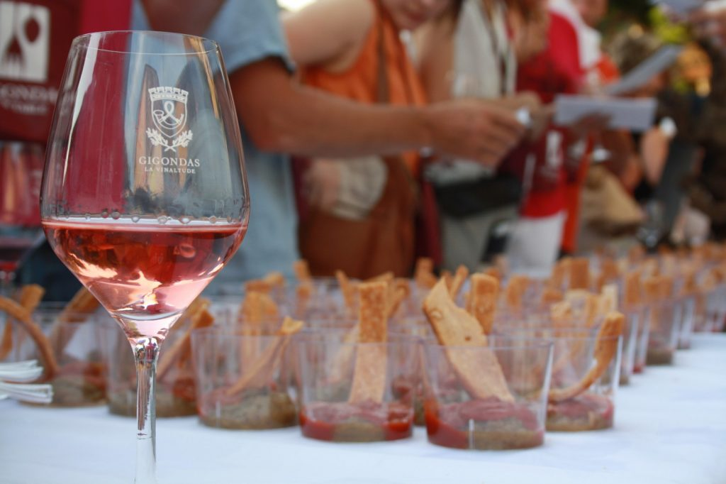 Gigondas rosé accords IMG_8041