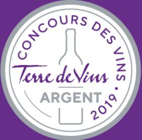 Médaille Terre de Vins 2019 Romane Machotte rosé 2018