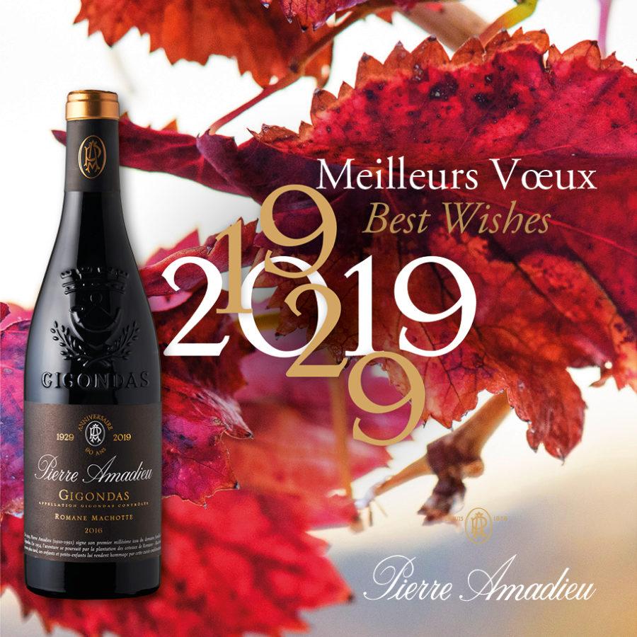 Pierre Amadieu en fête pour 2019 !!