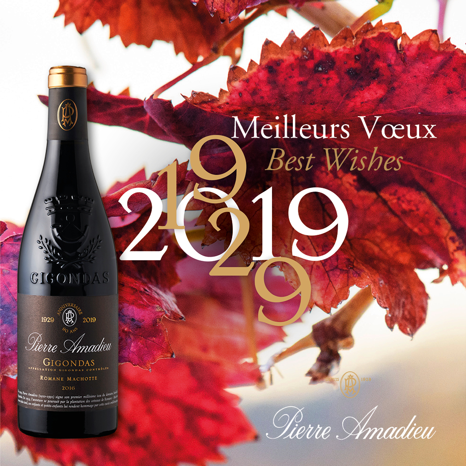 Pierre Amadieu celebrates for 2019 !!