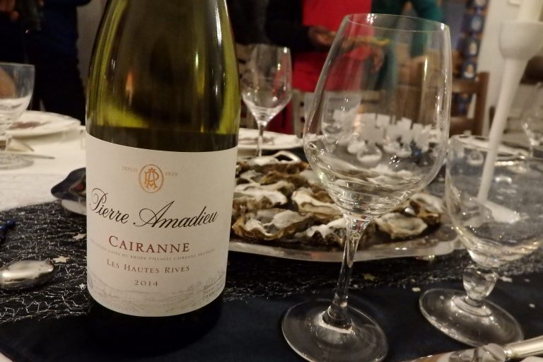 food & white Cairanne pairing