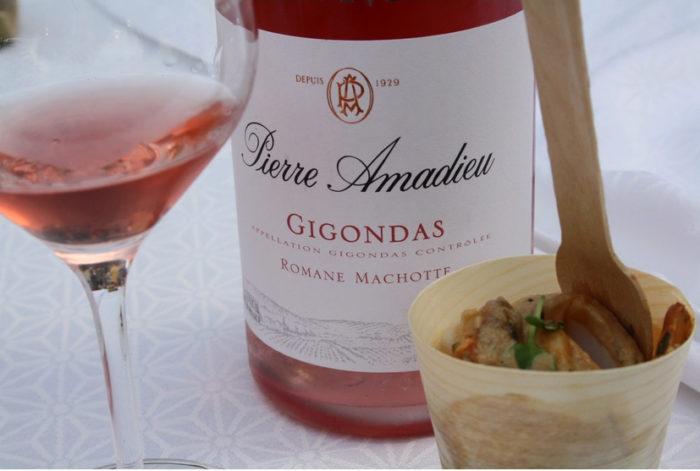 Accords Gigondas Romane Machotte rosé