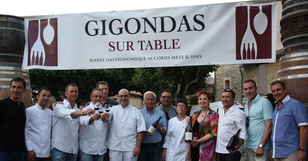 Gigondas sur table 2013