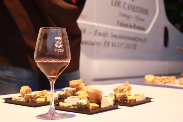 Gigondas sur table 2013
