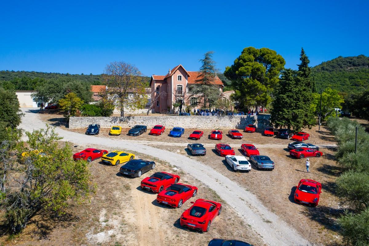 Le Club Ferrari France à Romane