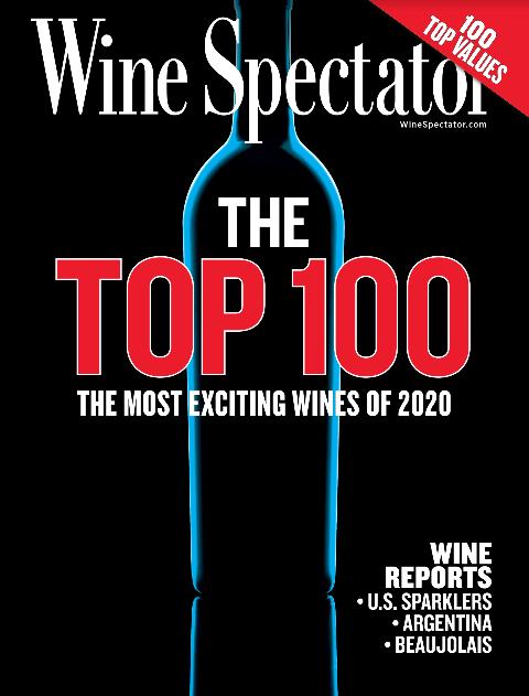 Notre Gigondas Domaine Grand Romane à la 22ème place du Top 100 Wine Spectator